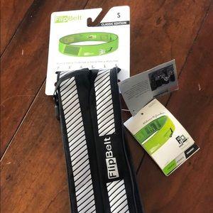 Accessories - Flipbelt reflective running belt, brand new